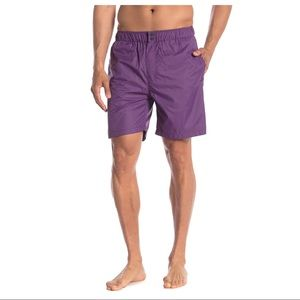 NEW Saturdays NYC Purple Trent Hybrid Shorts